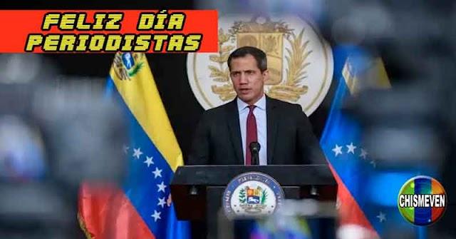 A CUÁLES? | Juan Guaidó felicitó a los Periodistas Venezolanos en su día