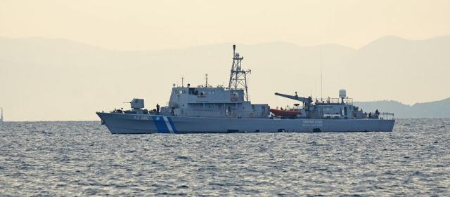 Λιμενικό: Πυροβολισμοί κατά ύποπτου σκάφους που κατευθυνόταν στη Χίο