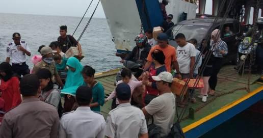 H - 3 Mudik Ke Selayar 2019, Seribuan Lebih, Pemudik Diangkut 6 Trip Kapal Fery