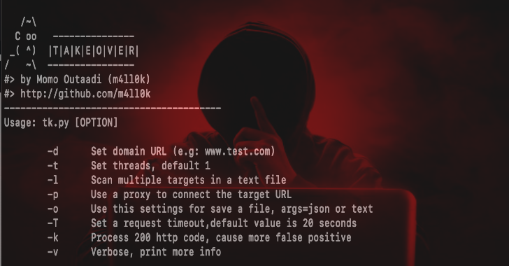 TakeOver : Sub-Domain TakeOver Vulnerability Scanner