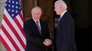 Biden-Putin summit: US and Russian leaders meet for tense Geneva talks 2021.