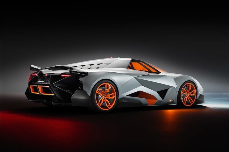 Lamborghini Egoista: a single-seat supercar for 50 years