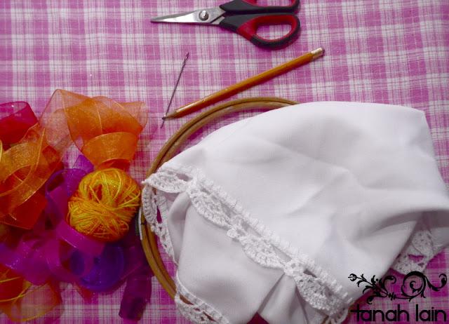 Puntadas básicas de bordado con listón
