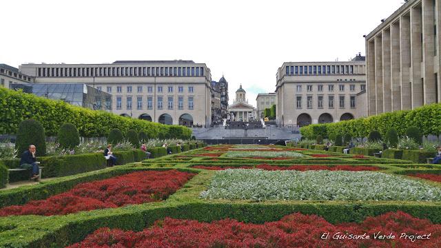Mont des Arts - Bruselas, por El Guisante Verde Project