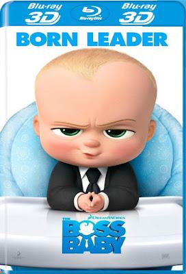 The Boss Baby 2017 BD25 3D Latino
