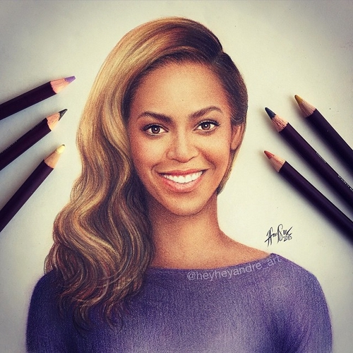 04-Beyoncé-Knowles-André-Manguba-Celebrities-Drawn-and-Colored-in-with-Pencils-www-designstack-co