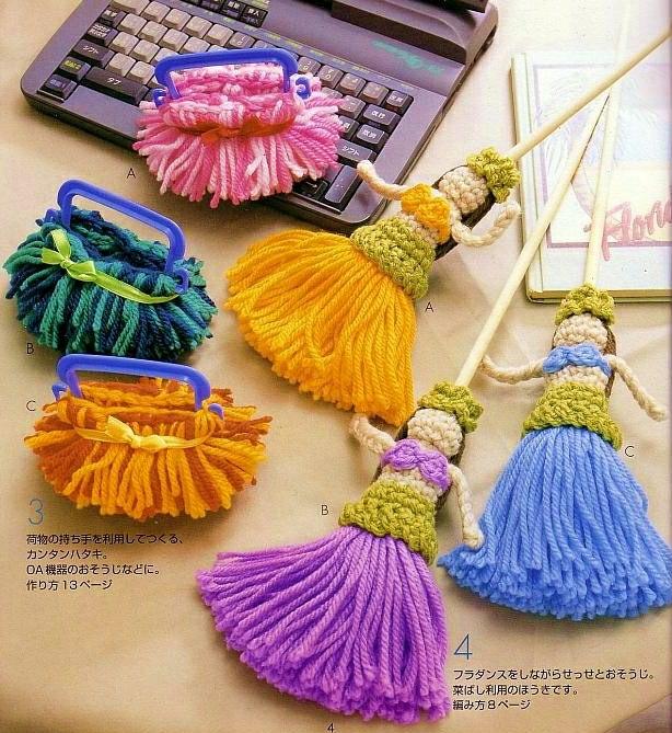 Muñecas Hawaianas de Crochet