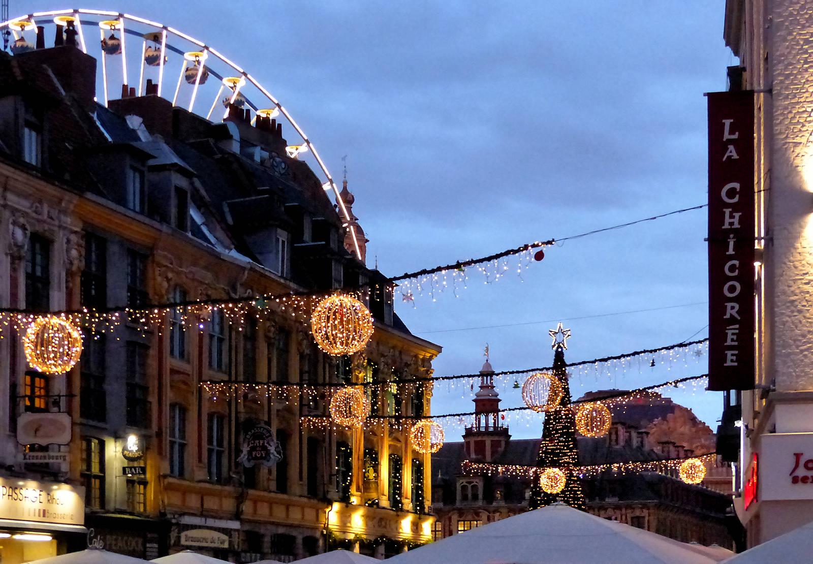 Place Rihour - Lille Noël 2019