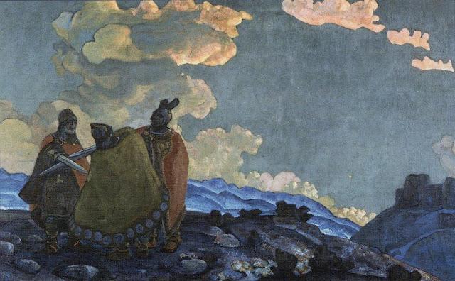 Николай Рерих - Короны. 1914