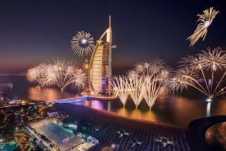 celebrate new year dubai