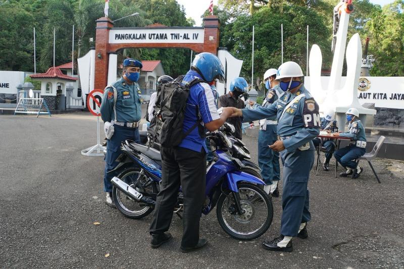 Tingkatkan Disiplin Prajurit dan PNS, Pomal Lantamal IV Tanjungpinang Gelar OPS Gaktib TA 2020