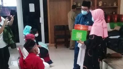 DPRD Kota Tangerang Santuni Ratusan Yatim Piatu