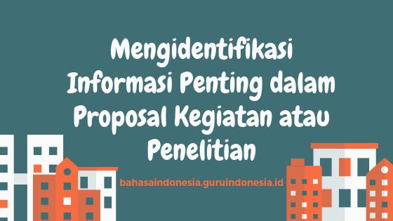Judul Proposal Kadar Keilmuan Tulisan Siswa Sman 3 Tasikmalaya Pada Mading Sekolah Latar Perumusan Masalah