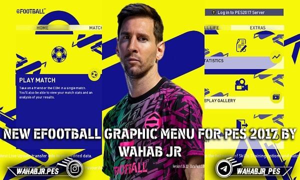 مود جرافيك قوائم اي فوتبول 2022 لبيس 2017