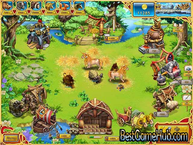 Farm Frenzy Viking Heroes High Compressed PC Game Free Download