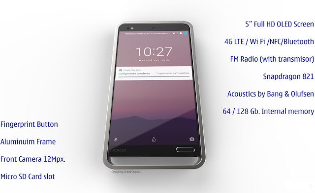Nokia 12 Smartphone || Concept