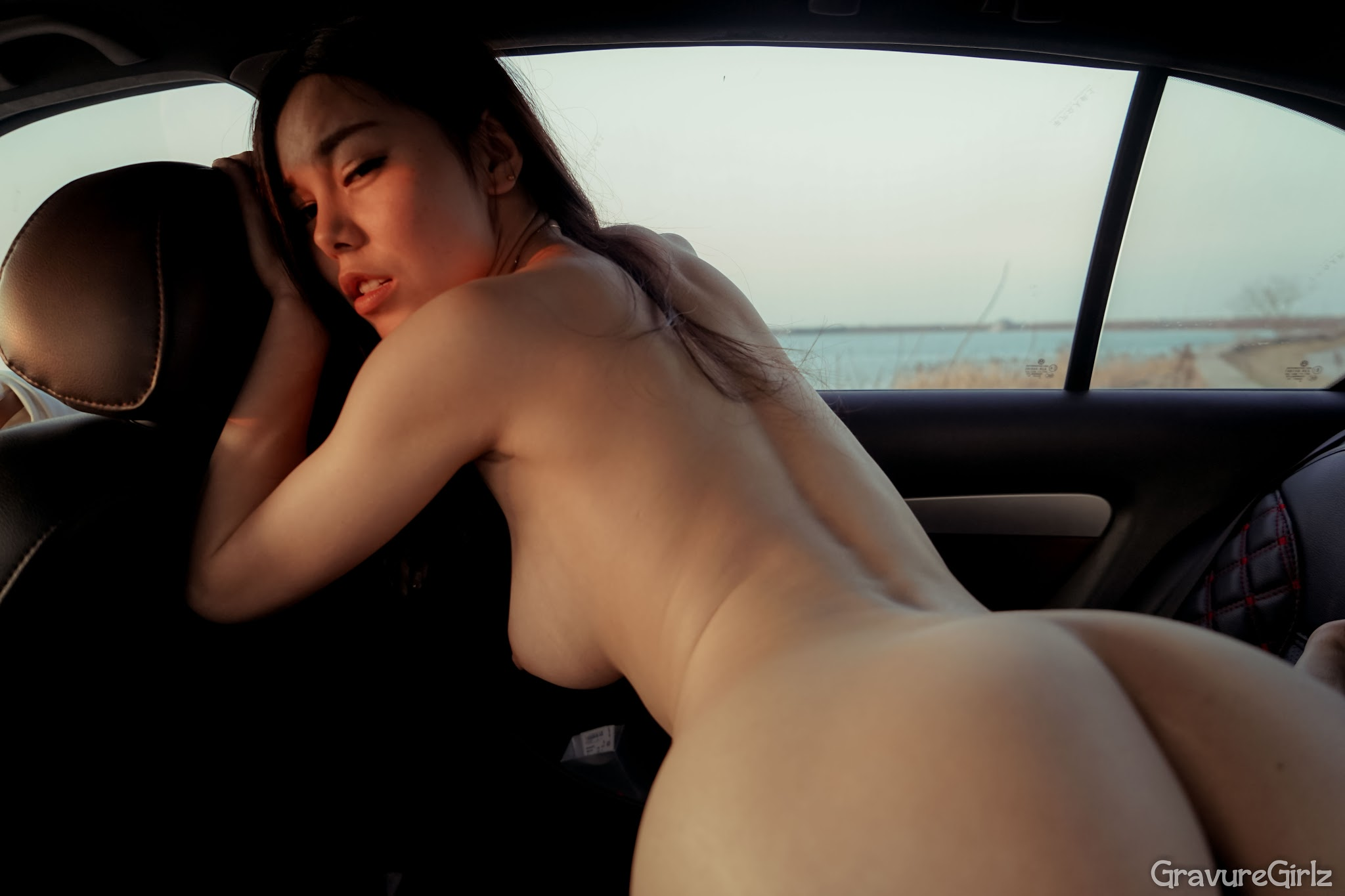 Shen Jiaxi 沈佳熹 Nude Sexy Time Inside Car (Original)   Page ...
