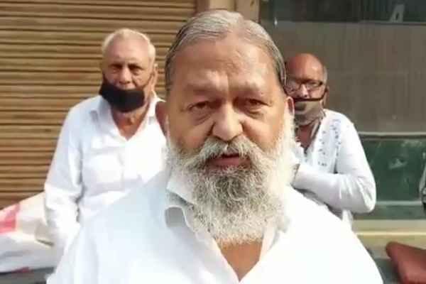 haryana-home-health-minister-anil-vij-latest-news