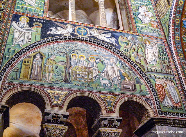 Basílica de San Vitale, Ravena, Itália