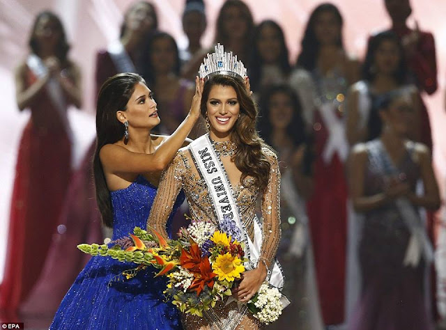 23-year-old Miss France Iris Mittenaere crowned Miss Universe 2017