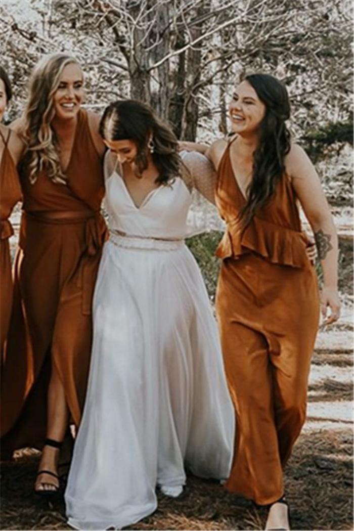 https://www.27dress.com/p/ruffles-sheath-belted-diaphanous-v-neck-bridesmaid-dresses-110232.html