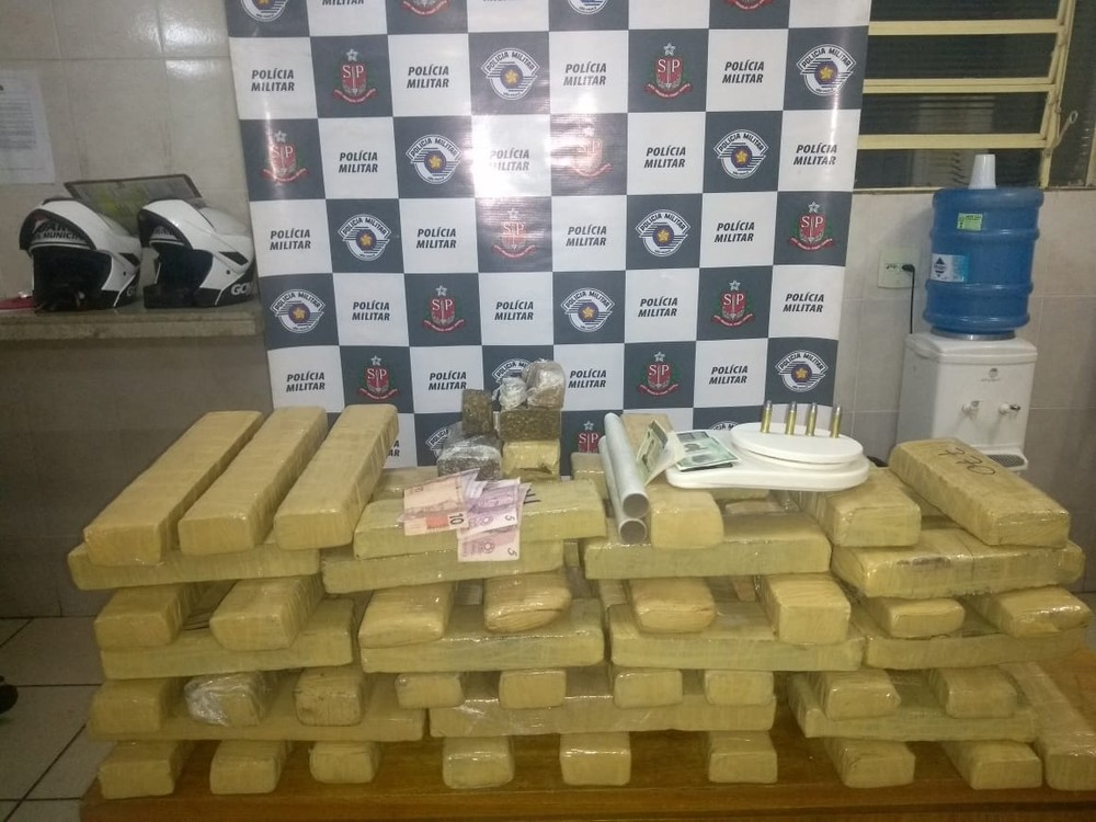 Polícia apreende mais de 50 kg de maconha em Rio Preto