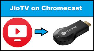 JioTV on Chromecast