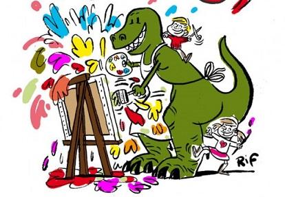 Dinosaures Et Volcans Concours Dessin Dinosaure