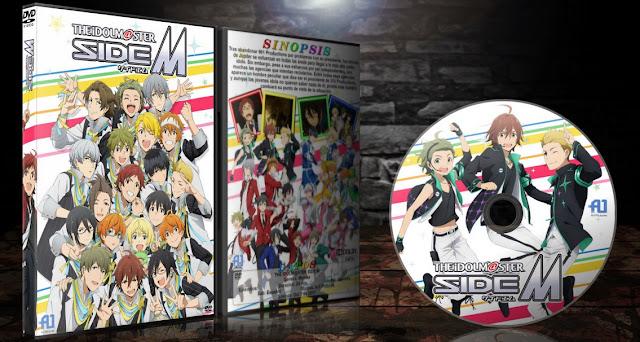 The iDOLMSTER Side M | Cover DVD | MEGA |