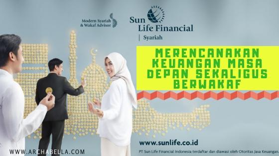 Merencanakan masa depan sekaligus berwakaf dengan Asuransi Sun Life Financial
