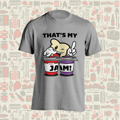 """That's My Jam!"" T-Shirt by Deli Fresh Threads"
