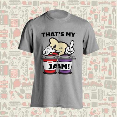 """That's My Jam!"" T-Shirt by Deli Fresh Threads"