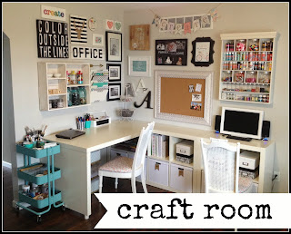 craft room reveal