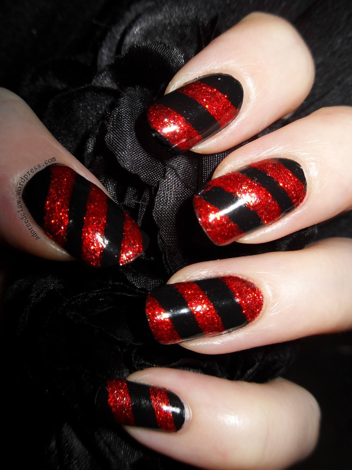 Red and black combination!