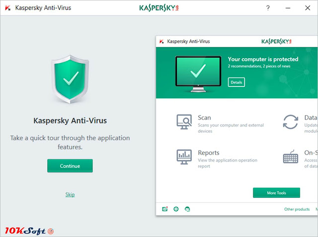 Kaspersky Anti-Virus 2018 Offline Setup Free Download