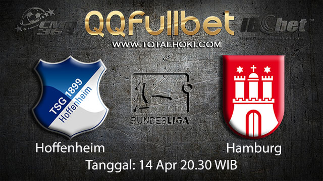BOLA88 - PREDIKSI TARUHAN BOLA HOFFENHEIM VS HAMBURG 14 APRIL 2018 ( GERMAN BUNDESLIGA )