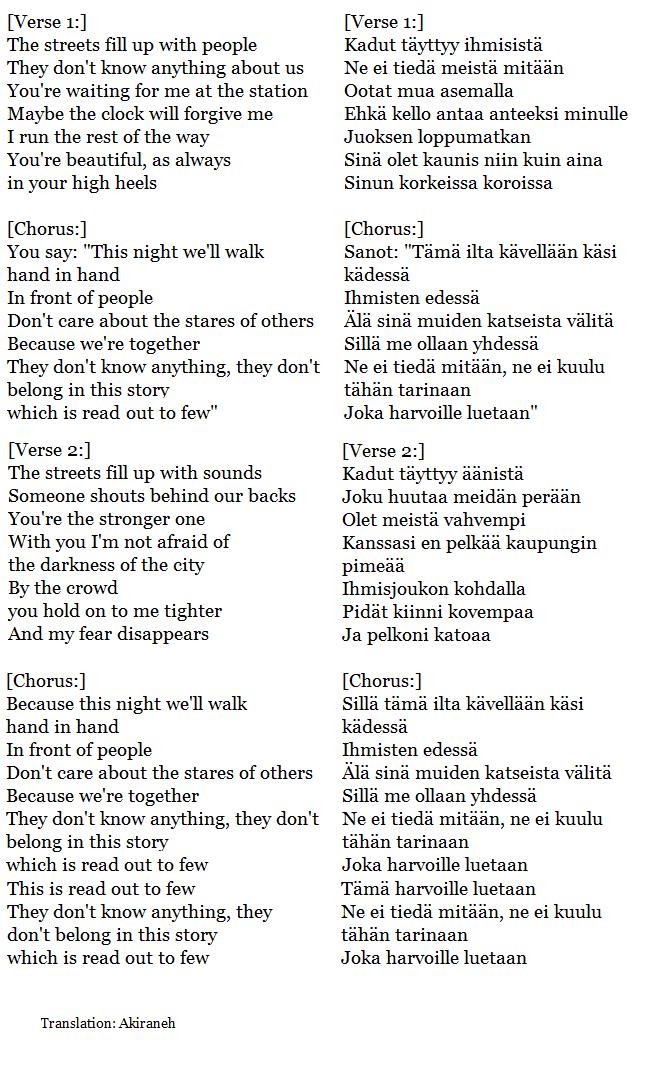 leevi and the leaving itkisitkö onnesta lyrics