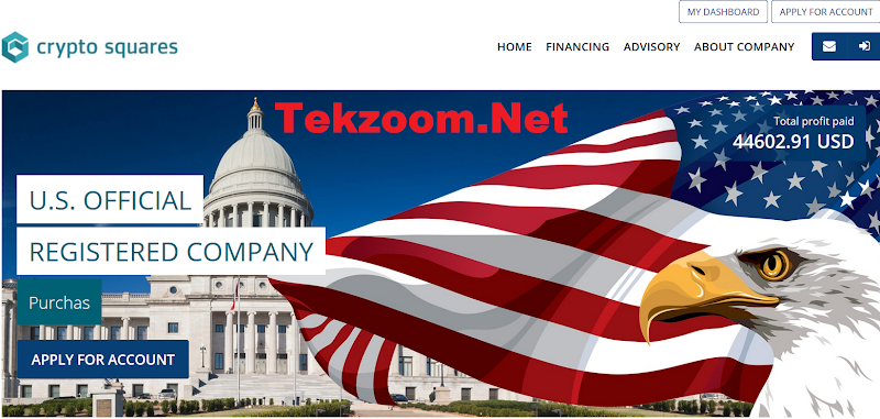 [SCAM] Review CryptoSquares - Site đầu tư US đầu tư tối thiểu 10$ - Thanh toán tức thì