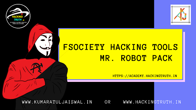 Fsociety Hacking Tools Mr Robot Pack