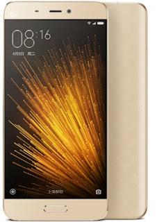 Handphone terbaik versi android marshmallow Xiaomi mi5