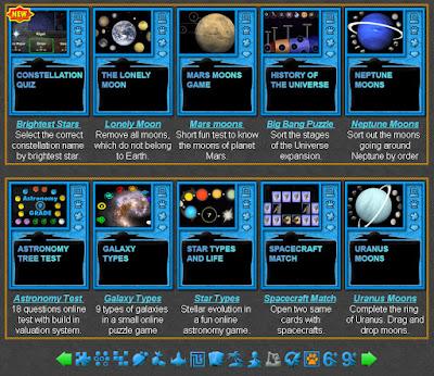 Astronomy Quizzes