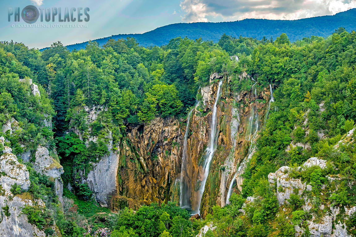 Plitvice lakes - the Big Waterfall