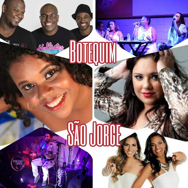 Celebração ao samba no fim de semana do Botequim São Jorge. A festa começa desde quinta com As Nandas