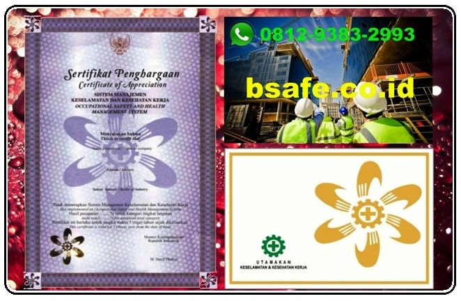 sertifikat smk3 murah, jasa pembuatan sertifikat smk3, harga sertifikat smk3
