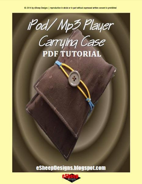 iPod/mp3 Player Carrying Case by eSheep Designs
