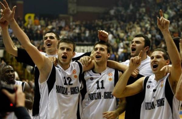Partizan Siena euroleague 2008