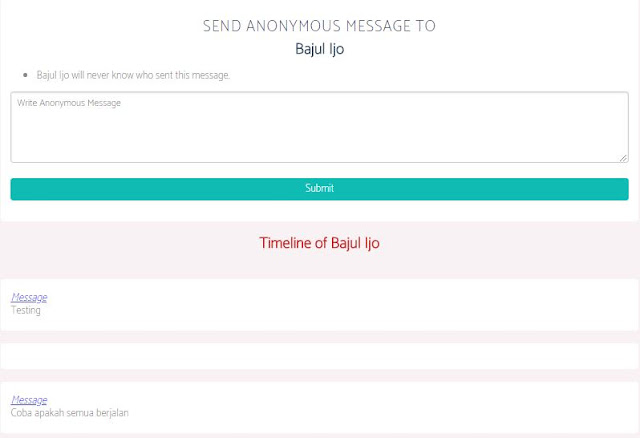 cara mengetahui pengirim pesan secreto