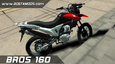 GTA SA - Honda BROS 160 1