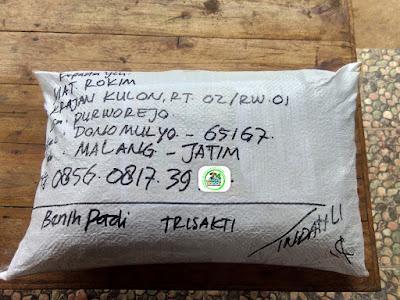 Benih pesanan MAT ROKHIM Malang, Jatim.   (Sesudah Packing)