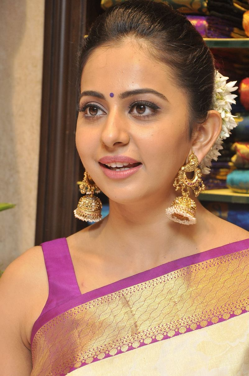 Telugu Actress Sexy Hot Rakul Preet Singh No Watermark